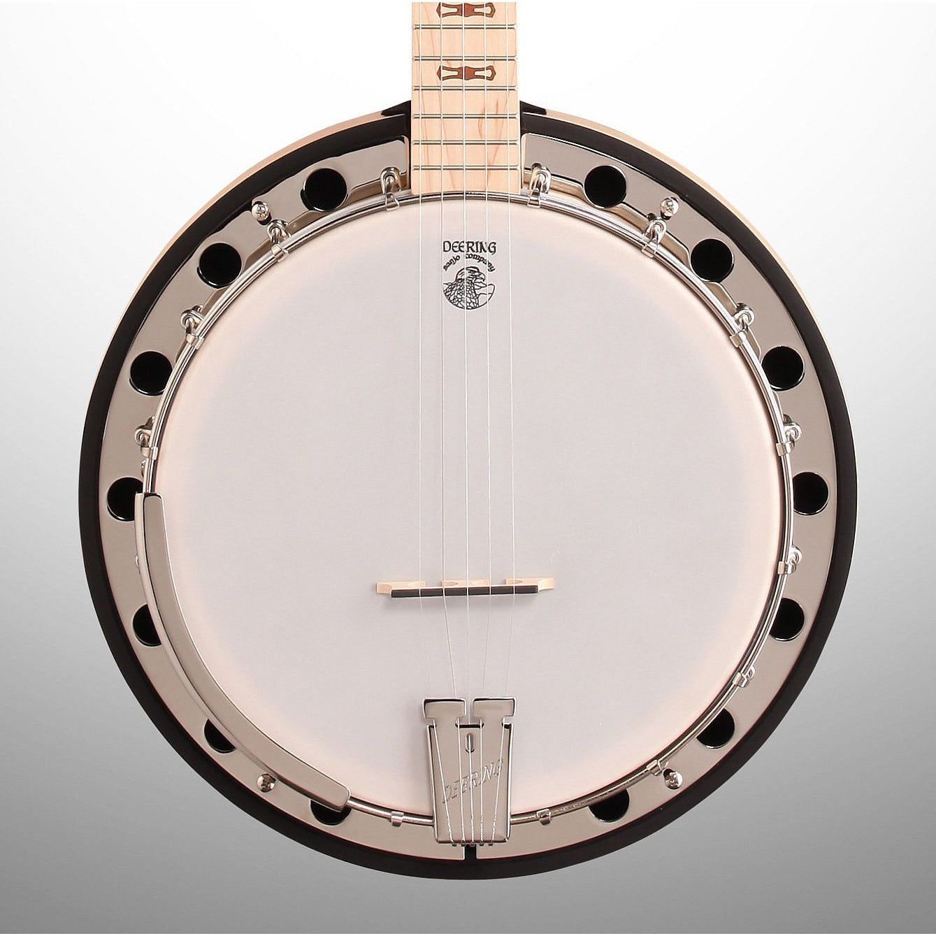 Deering Goodtime 2 Banjo with Resonator, 5-String