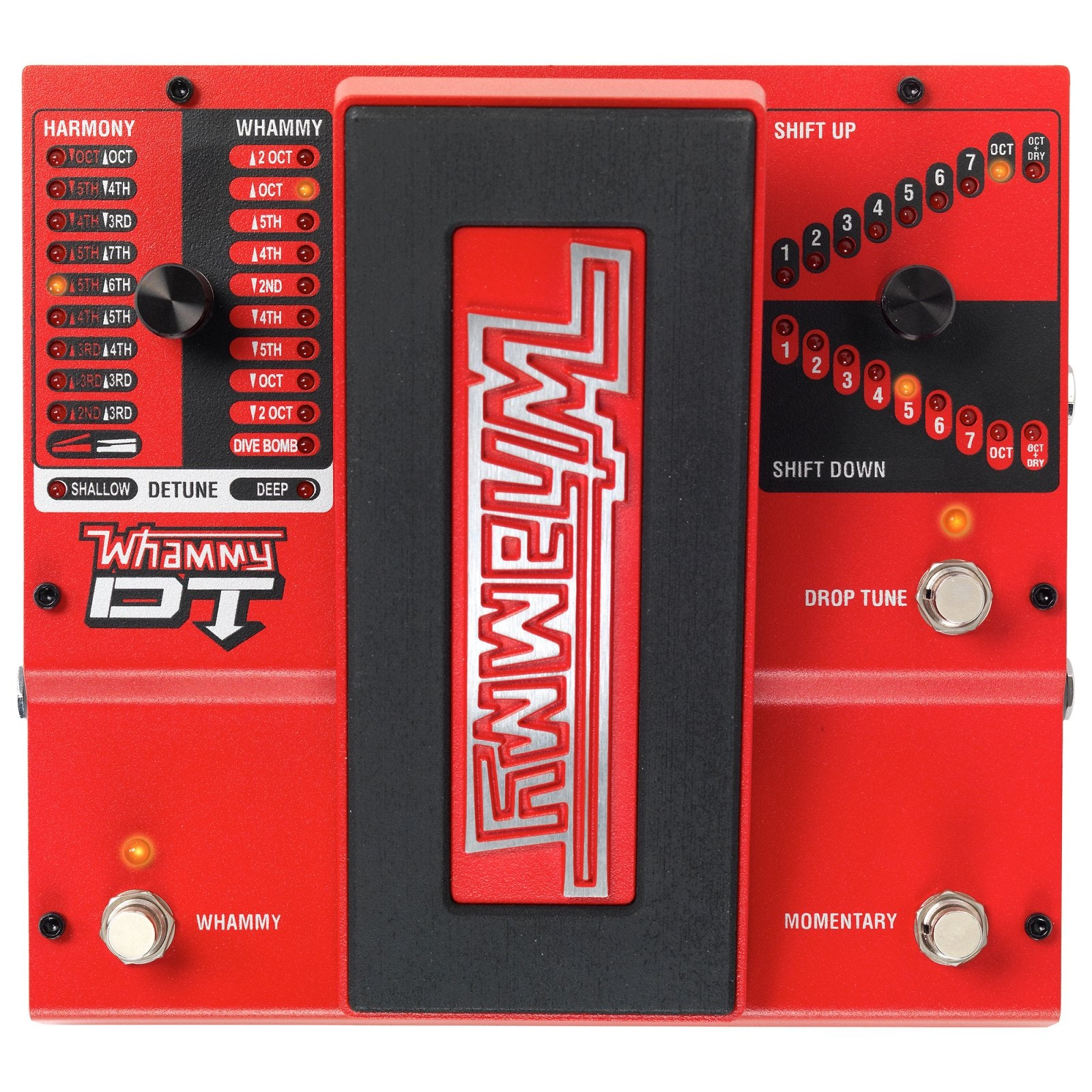 DigiTech Whammy DT Pitch Controller Pedal with Drop Tuning
