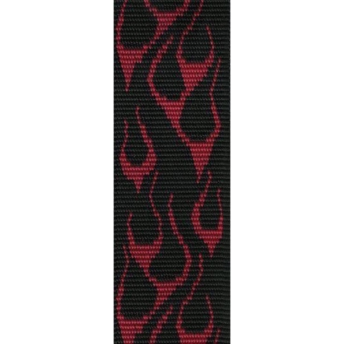 Dunlop Series D38 Nylon Guitar Strap, Flambe Red