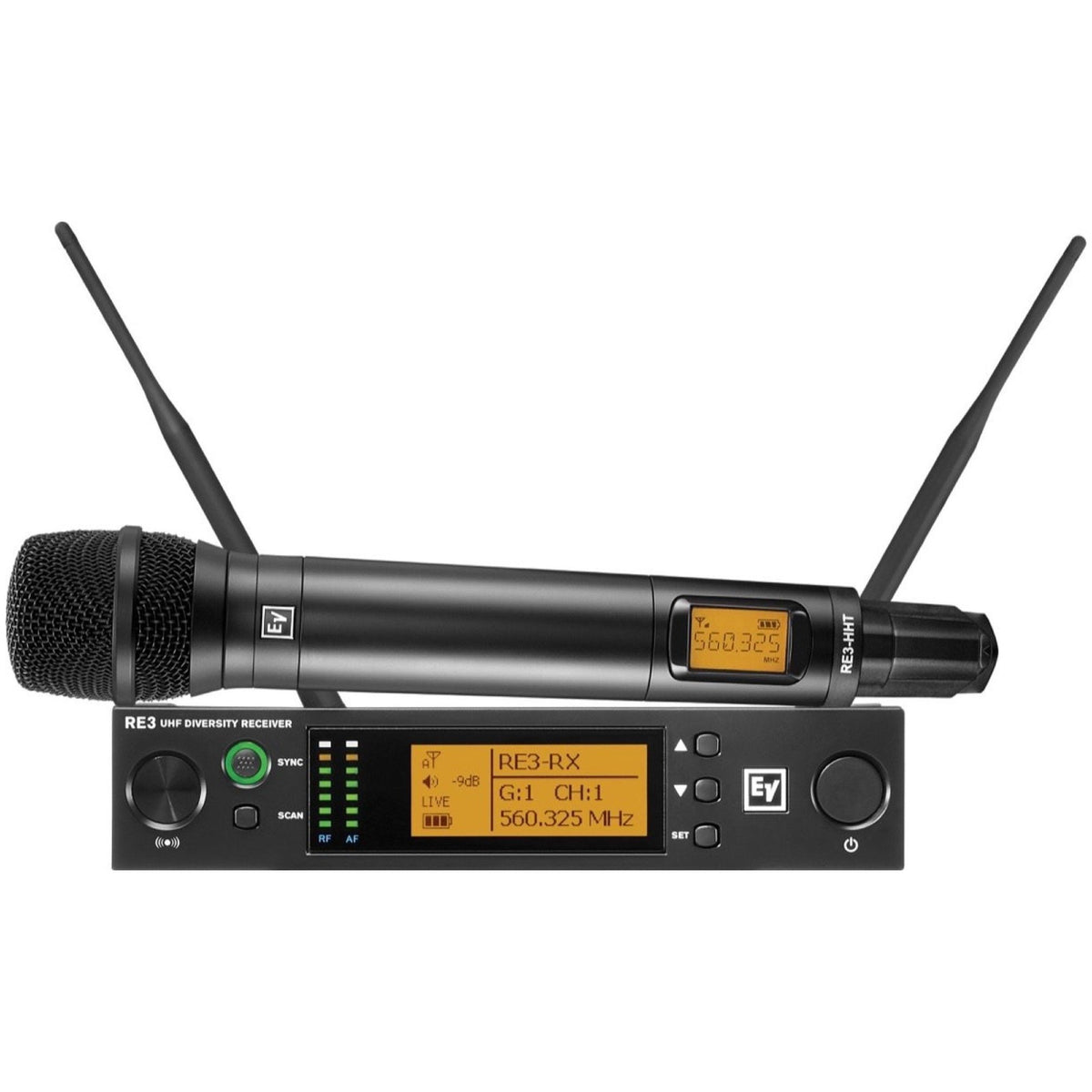 Electro-Voice RE3-RE420 Wireless Vocal Microphone System, Band 5H (560-596 MHz)