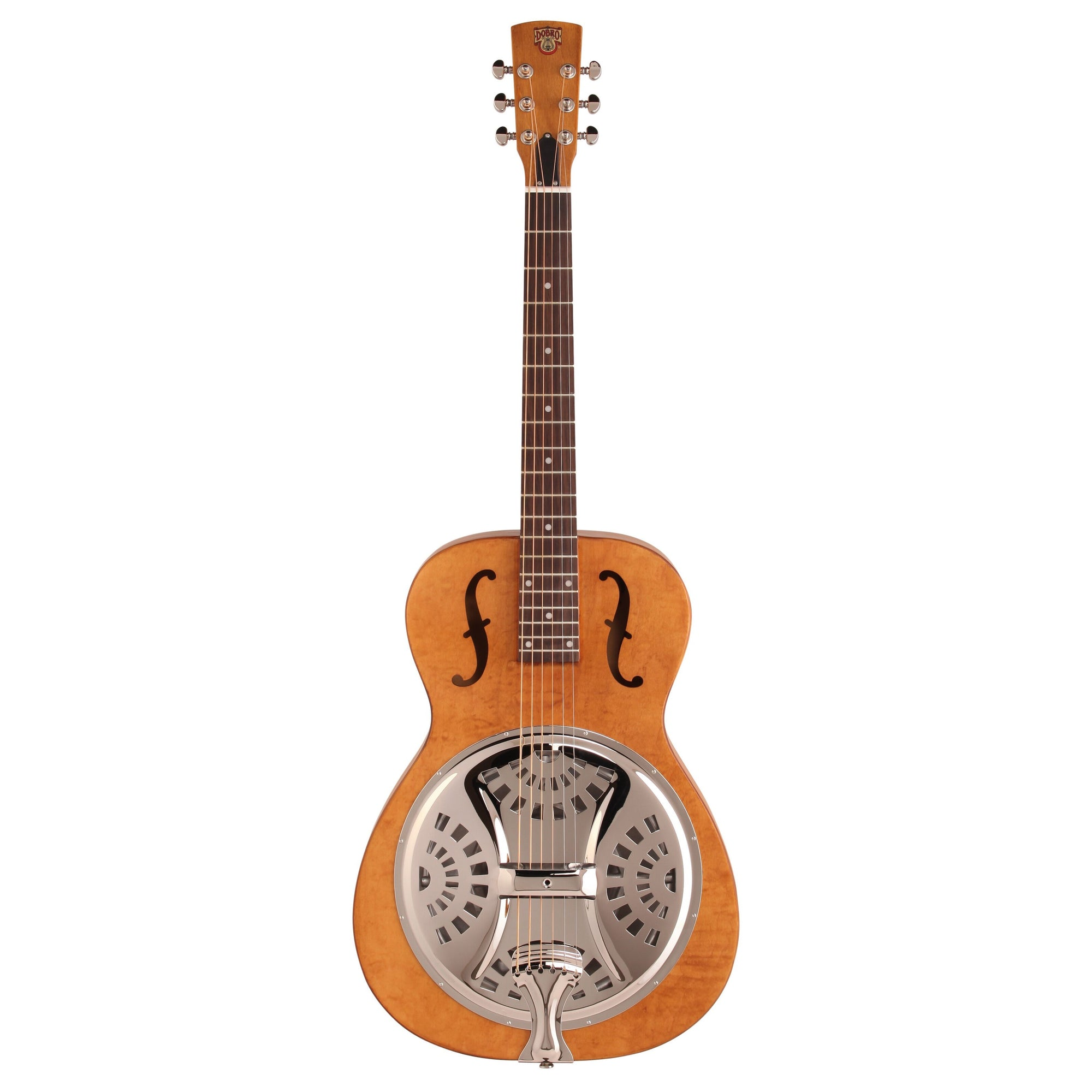 Epiphone Dobro Hound Dog Roundneck Resonator Guitar, Vintage Brown
