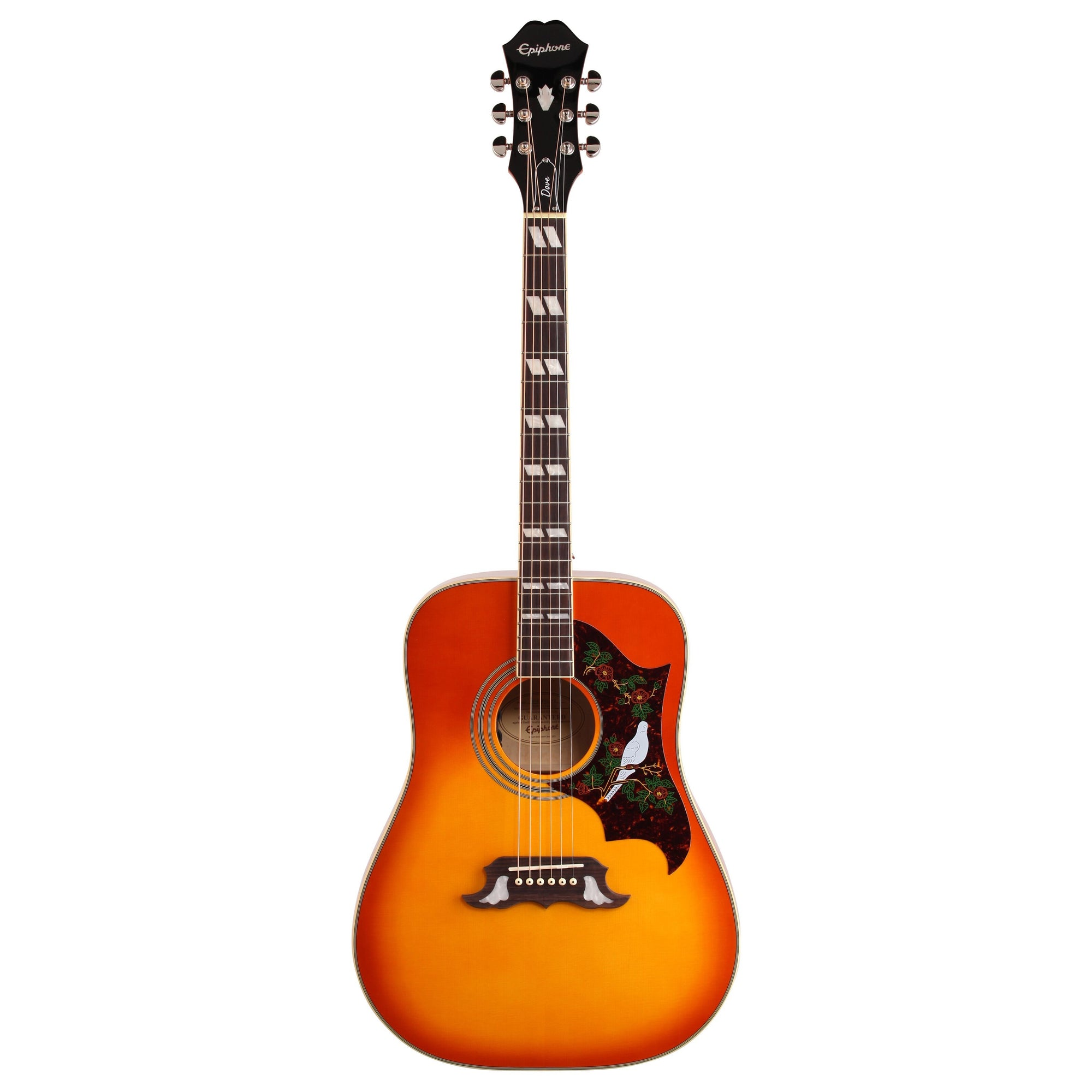 Epiphone Dove PRO Acoustic-Electric Guitar, Violinburst
