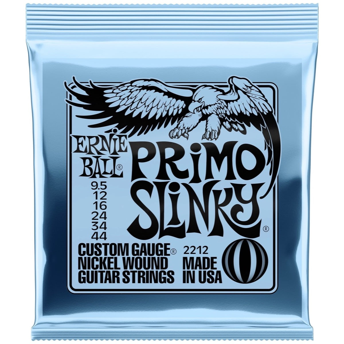 Ernie Ball 2212 Primo Slinky Electric Guitar Strings