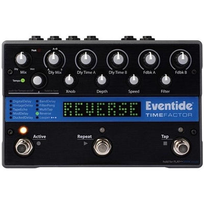 Eventide TimeFactor Delay Pedal, with Free M-Audio Expression Pedal