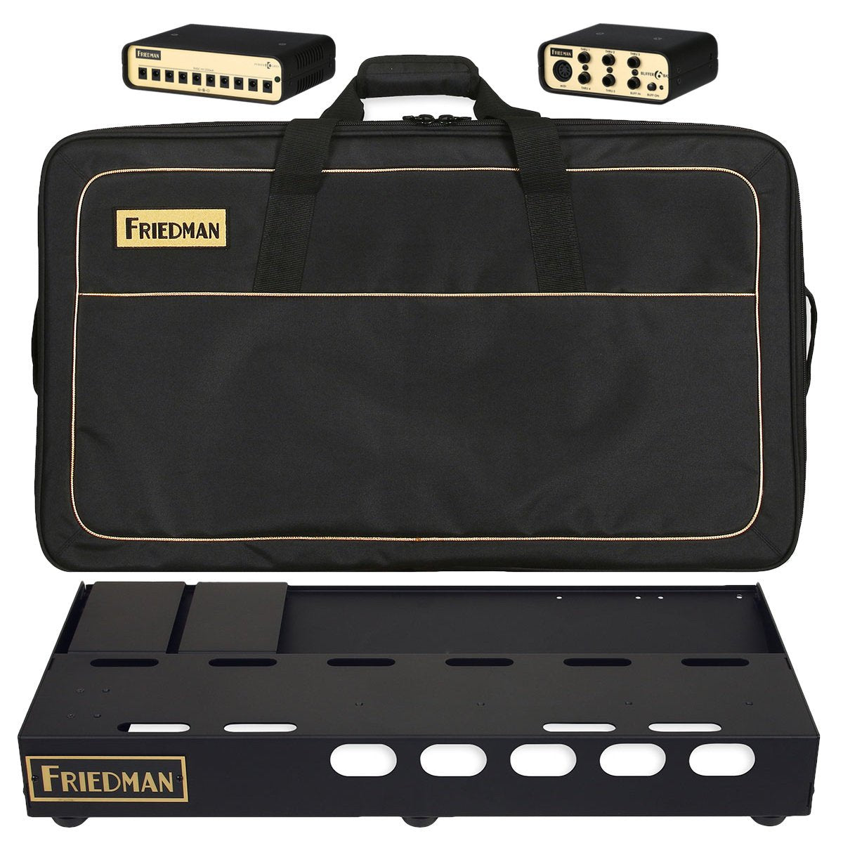 Friedman Tour Pro 1530 Pedalboard, with Platinum Pack