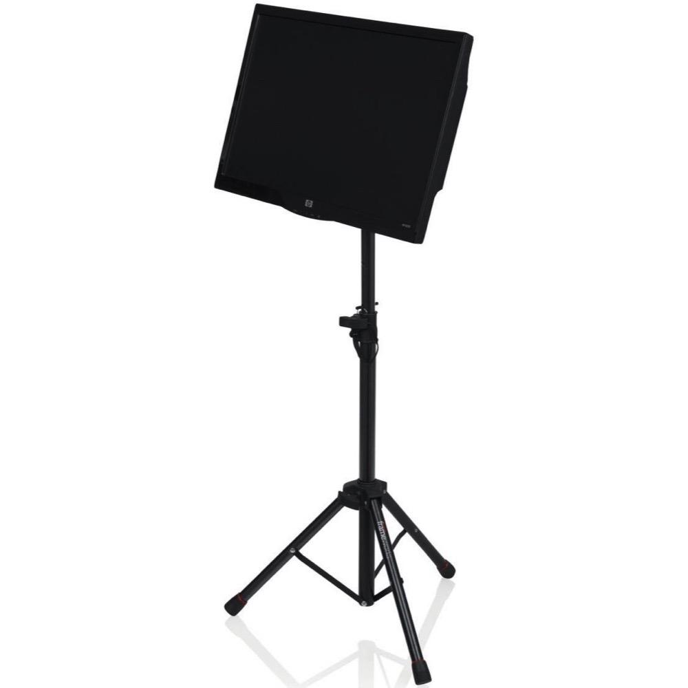 Gator Frameworks Compact Adjustable Media Tray with Tripod Stand