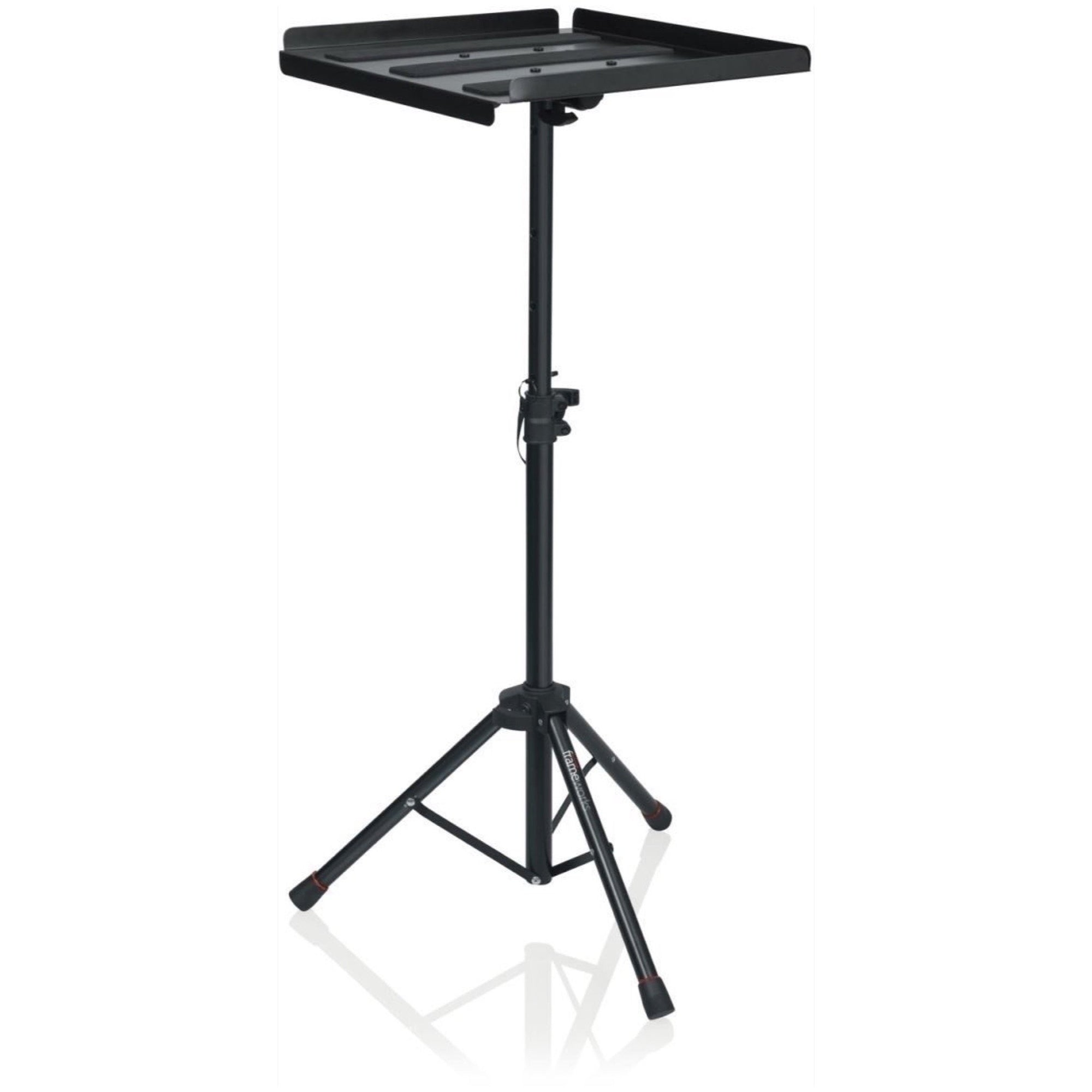 Gator Frameworks Heavy-Duty Adjustable Media Tray with Tripod Stand