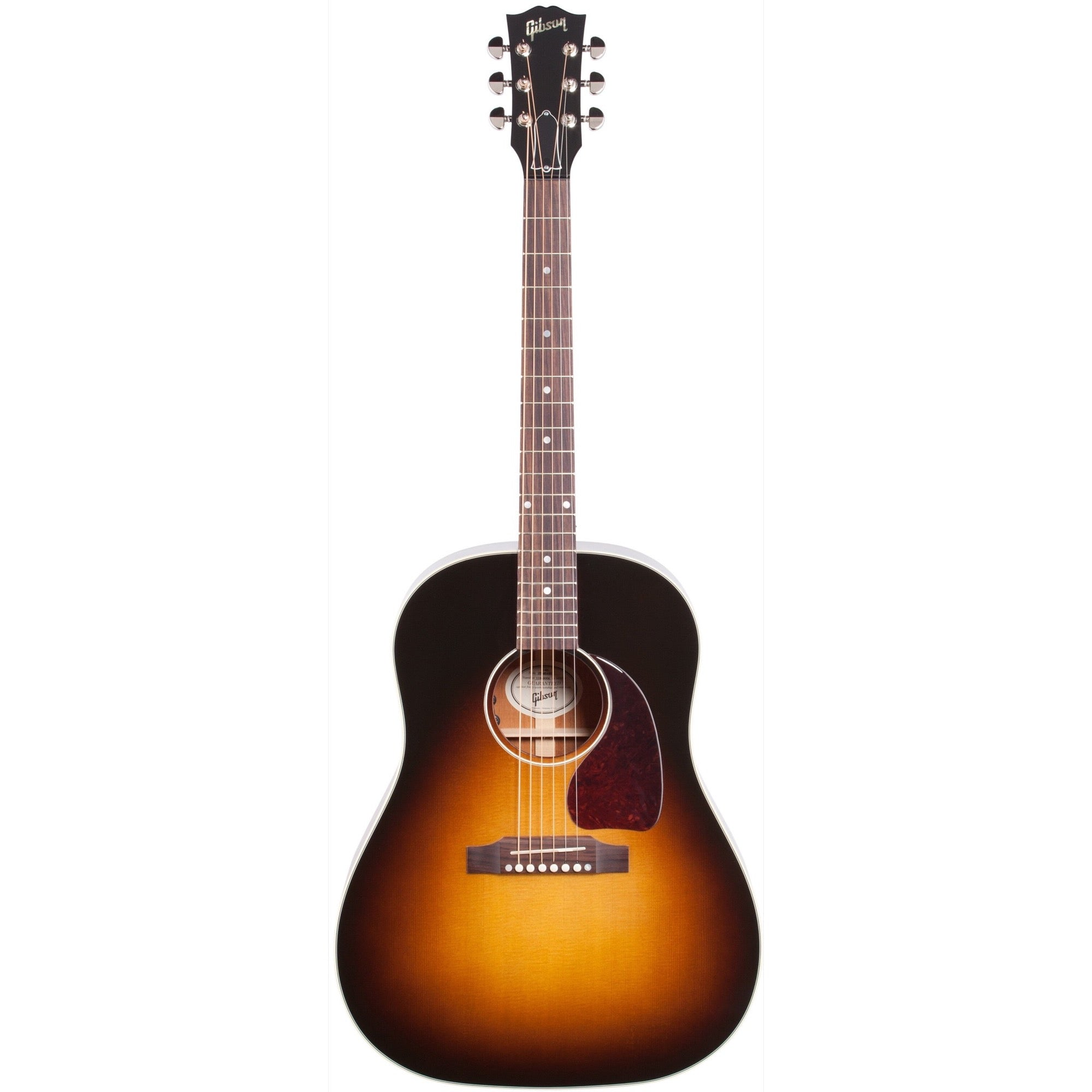 Gibson J-45 Standard Acoustic-Electric Guitar (with Case), Vintage Sunburst