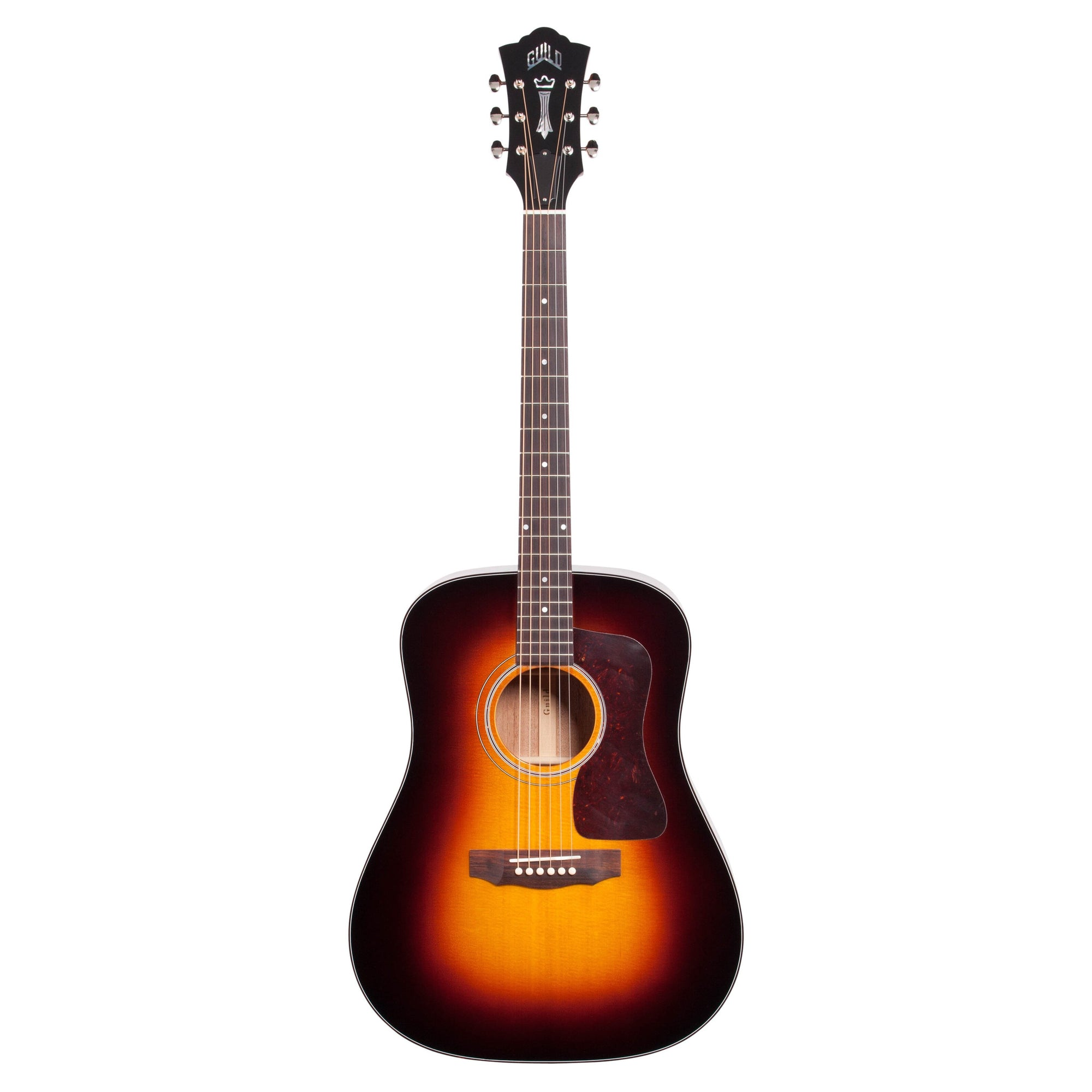 Guild D-40 Traditional Acoustic Guitar (with Case), Antique Sunburst