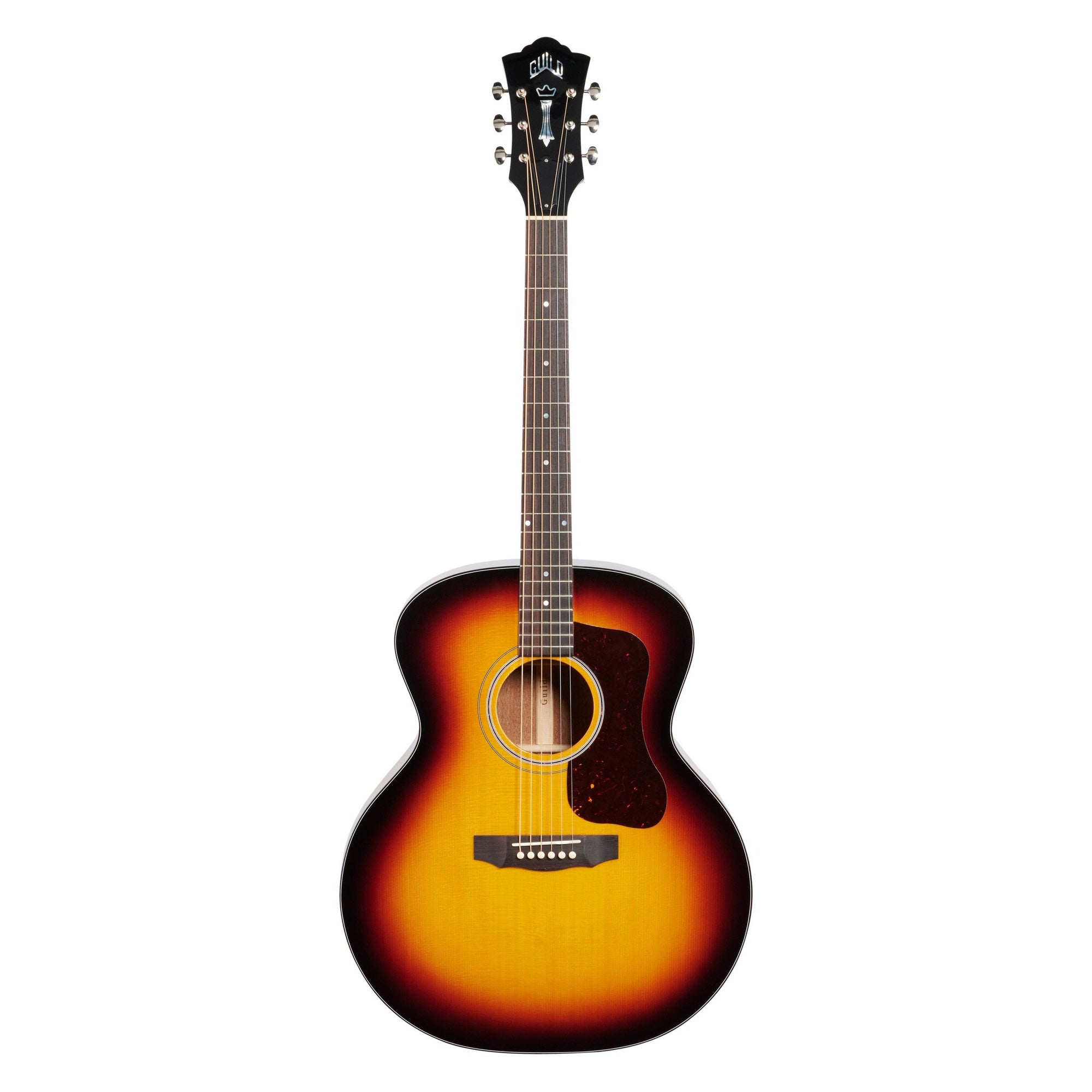 Guild F-40 Traditional Jumbo Acoustic Guitar (with Case), Antique Sunburst