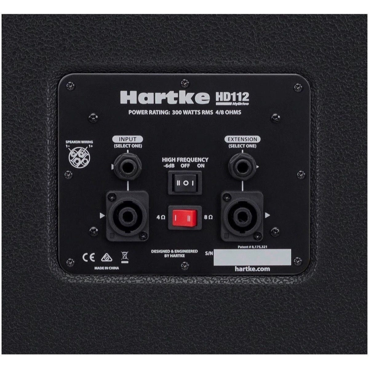 Hartke TX600 Bass Head with HD112 Bass Cabinet Half Stack Pack