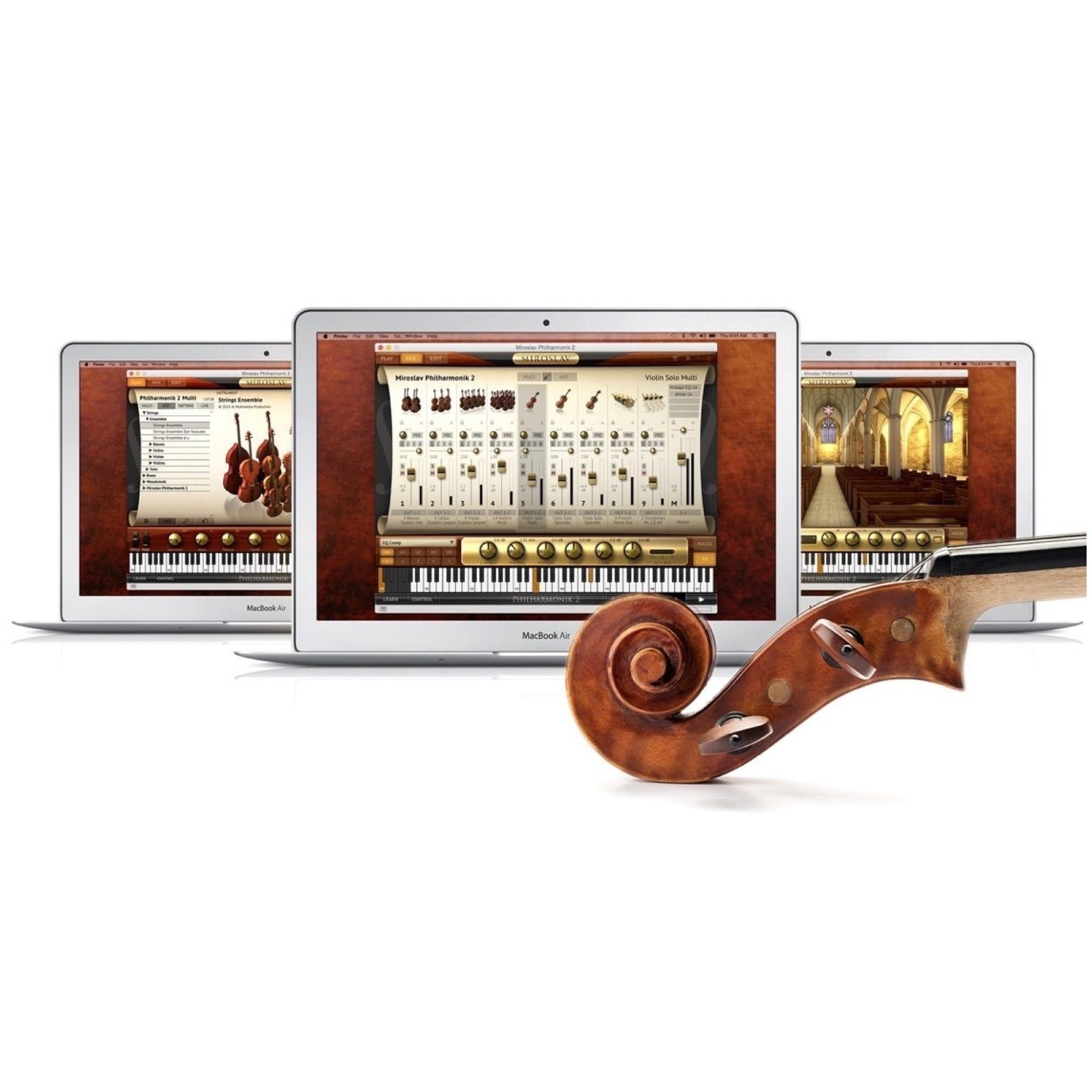 IK Multimedia Miroslav Philharmonik 2 Software