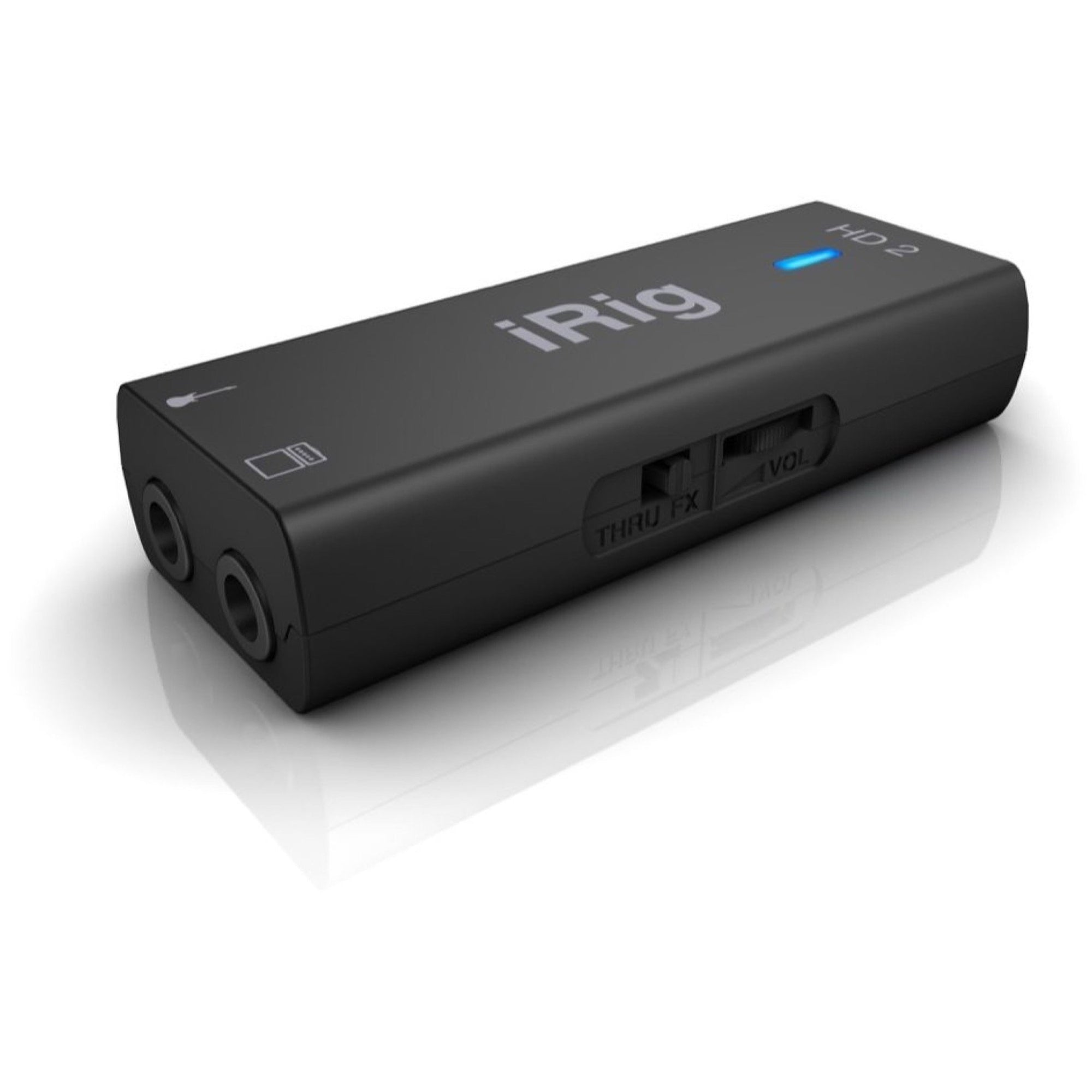 IK Multimedia iRig HD 2 iOSUSB Guitar Audio Interface