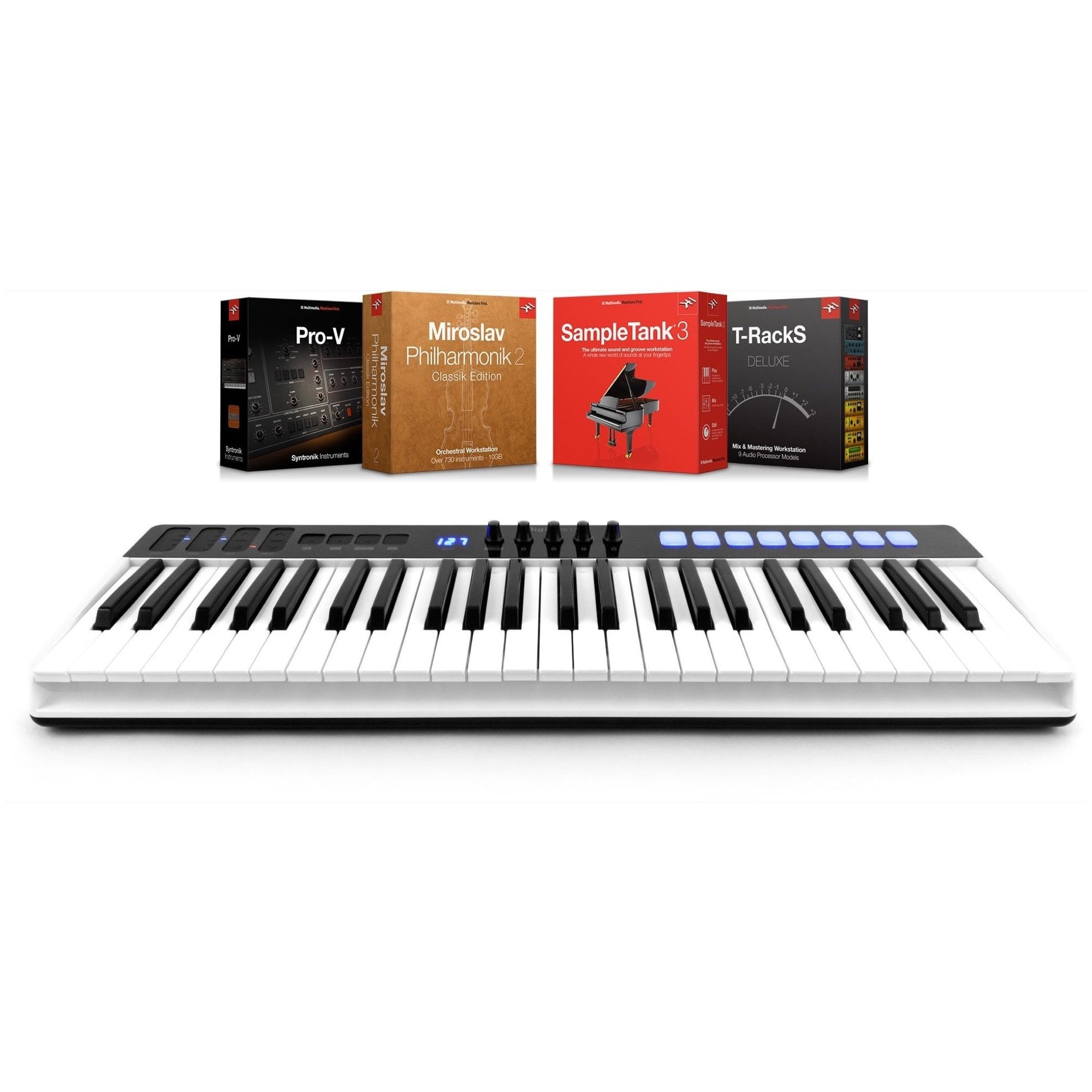 IK Multimedia iRig Keys IO 49 Keyboard Controller