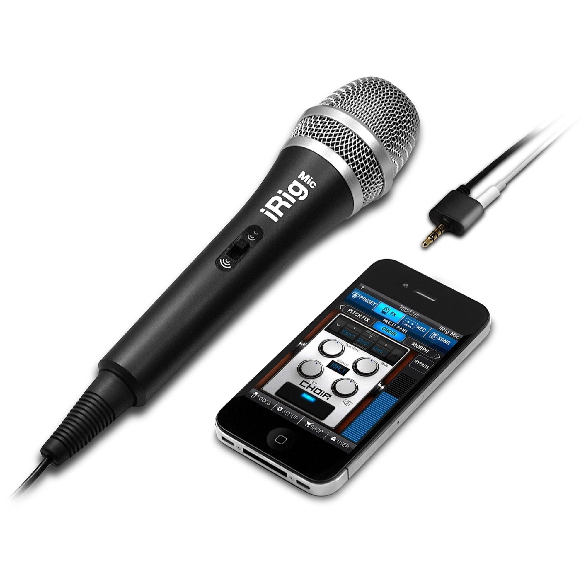 IK Multimedia iRig Mic Microphone for iPhone, iPad and Android