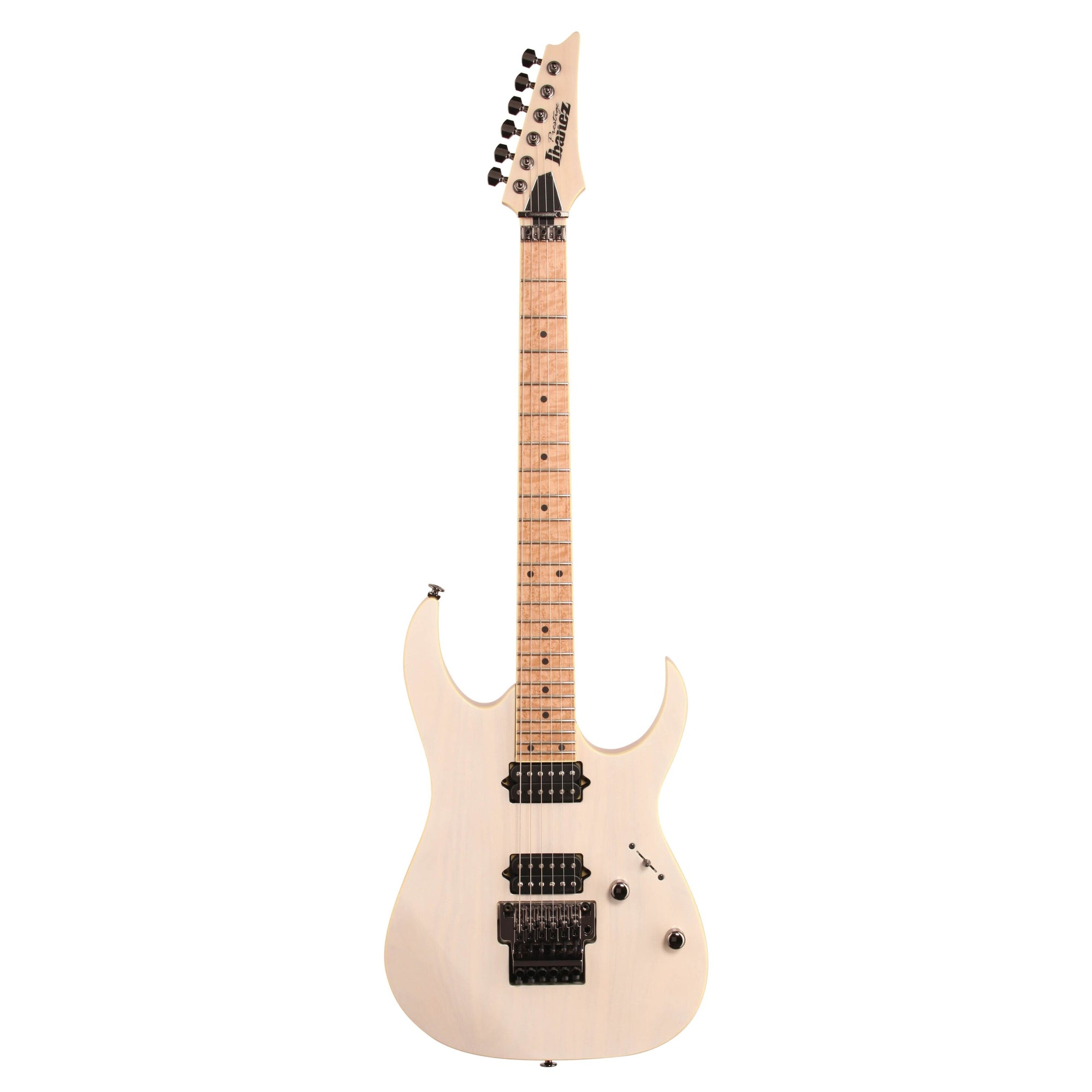 Ibanez RG652AHM Prestige Electric Guitar (with Case), Antique White Blonde