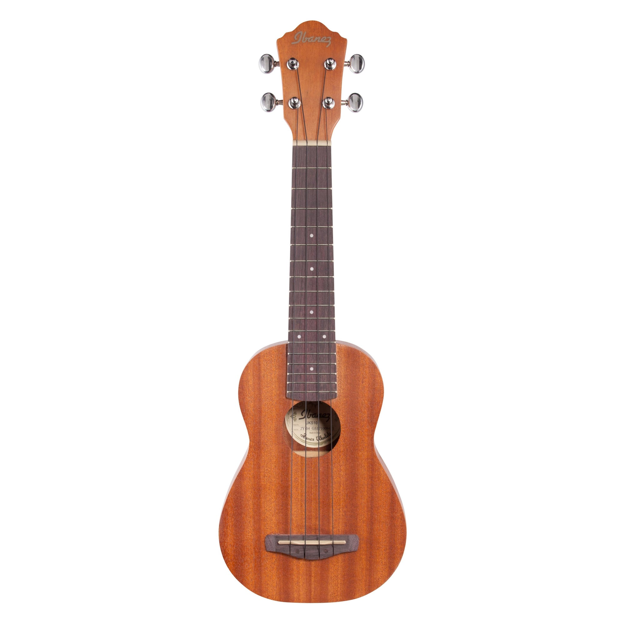 Ibanez UKS10 Soprano Ukulele (with Gig Bag)