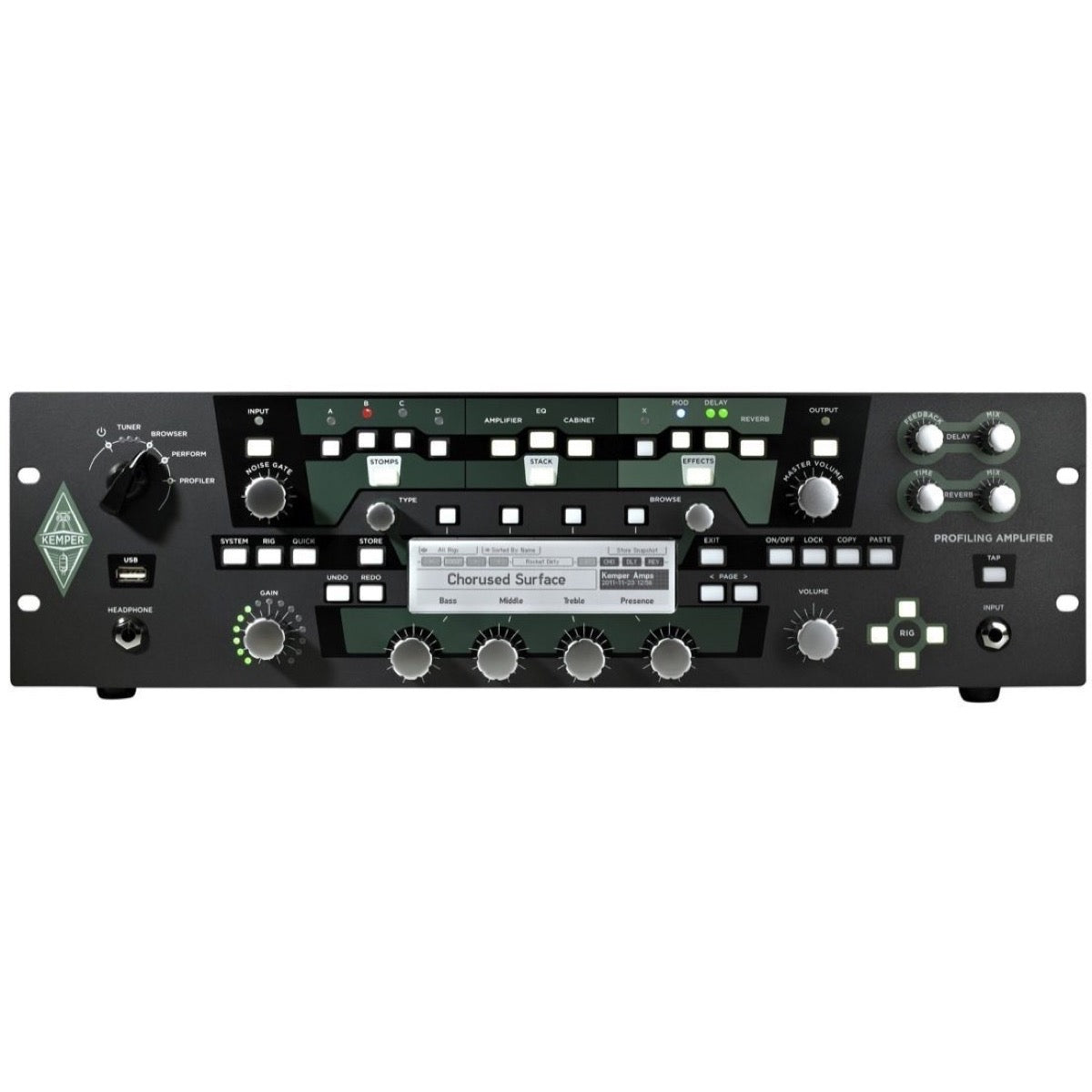 Kemper Profiler Rack Guitar Amplifier Modeler