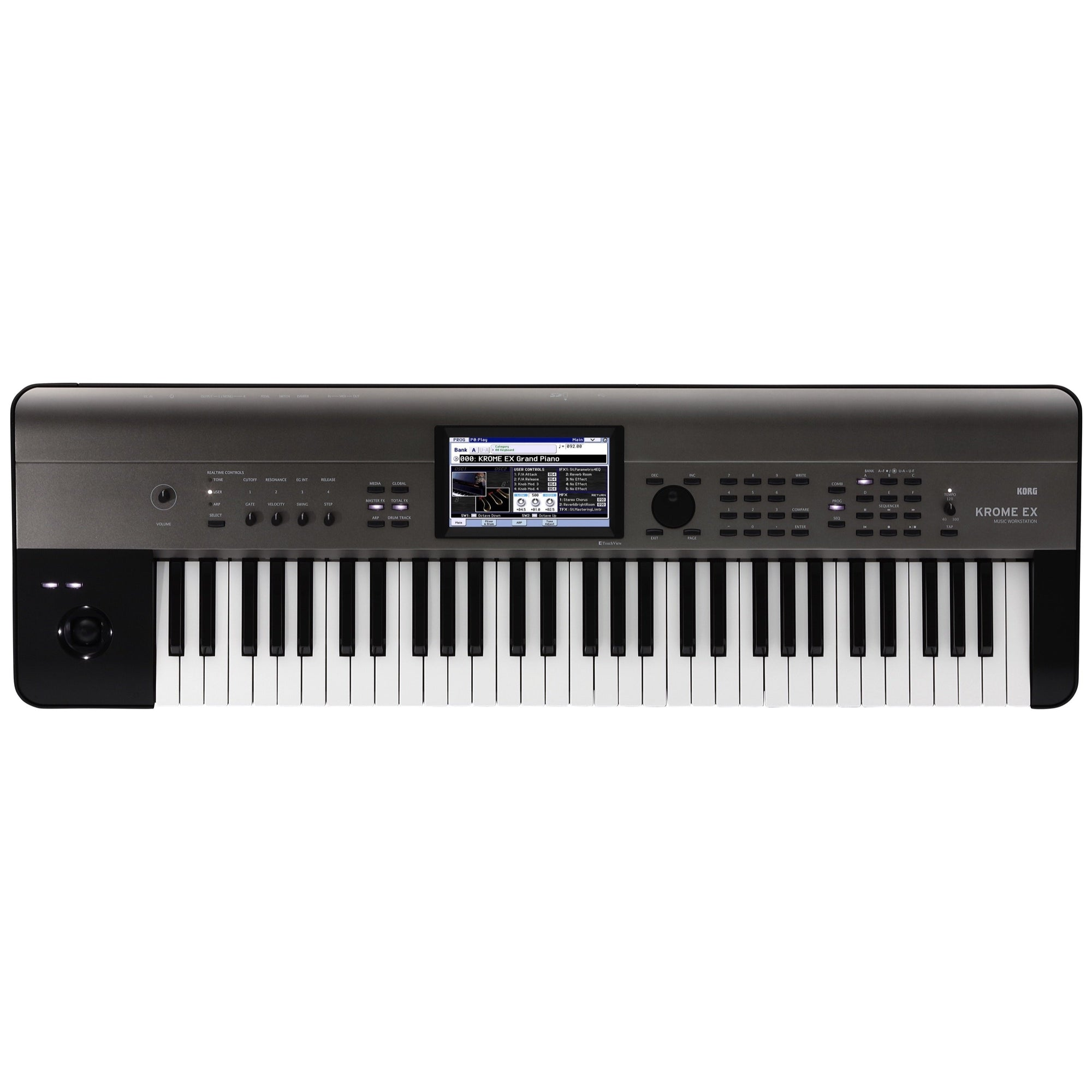 Korg Krome EX 61 Synthesizer Workstation Keyboard