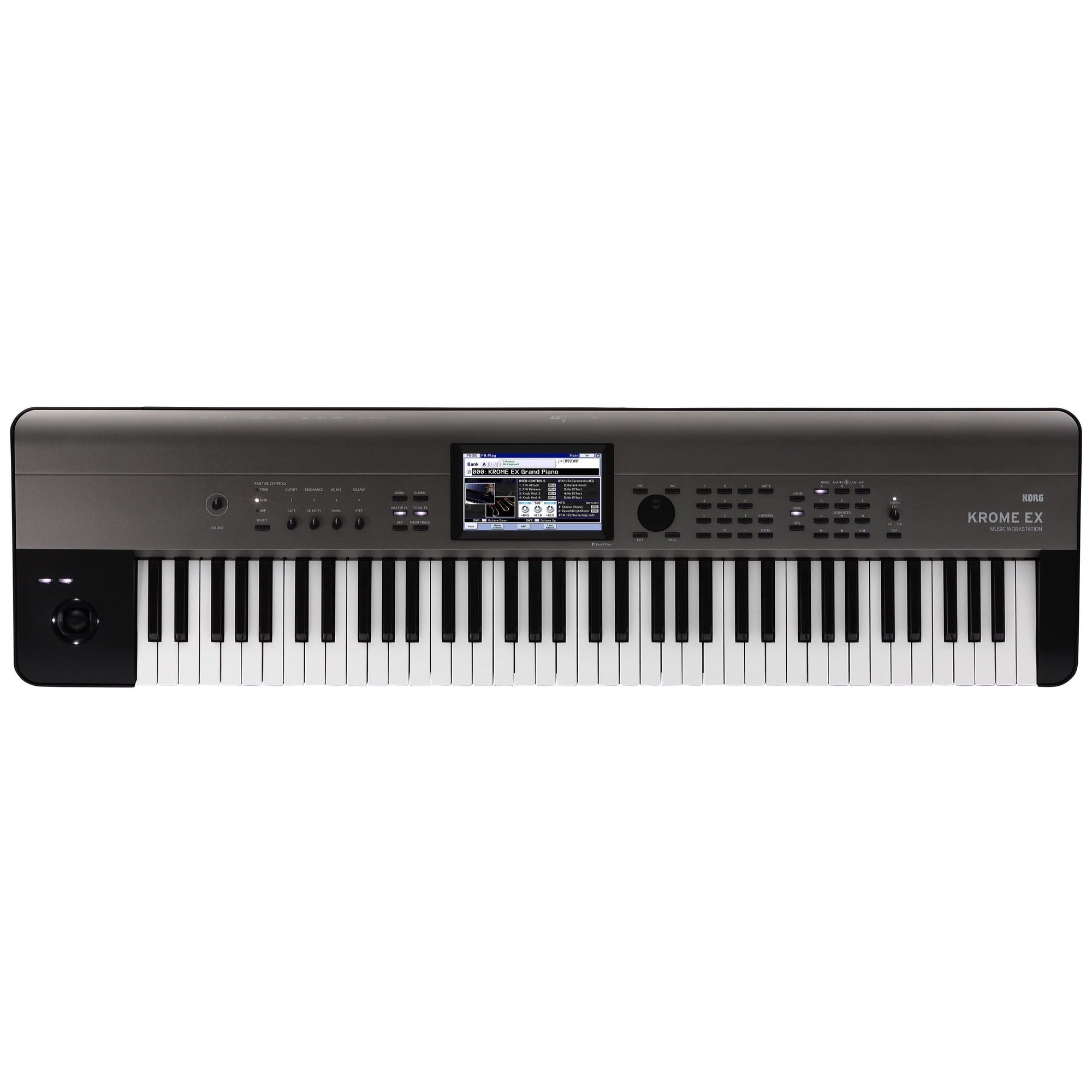 Korg Krome EX 73 Synthesizer Workstation Keyboard