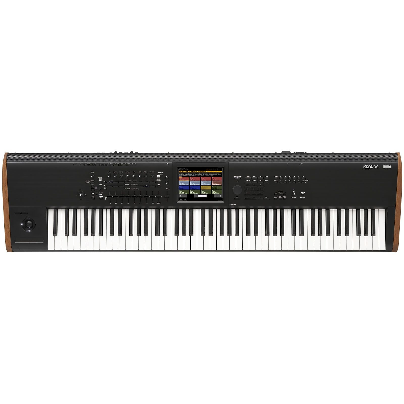 Korg Kronos 8 Music Workstation Keyboard, 88-Key, Black