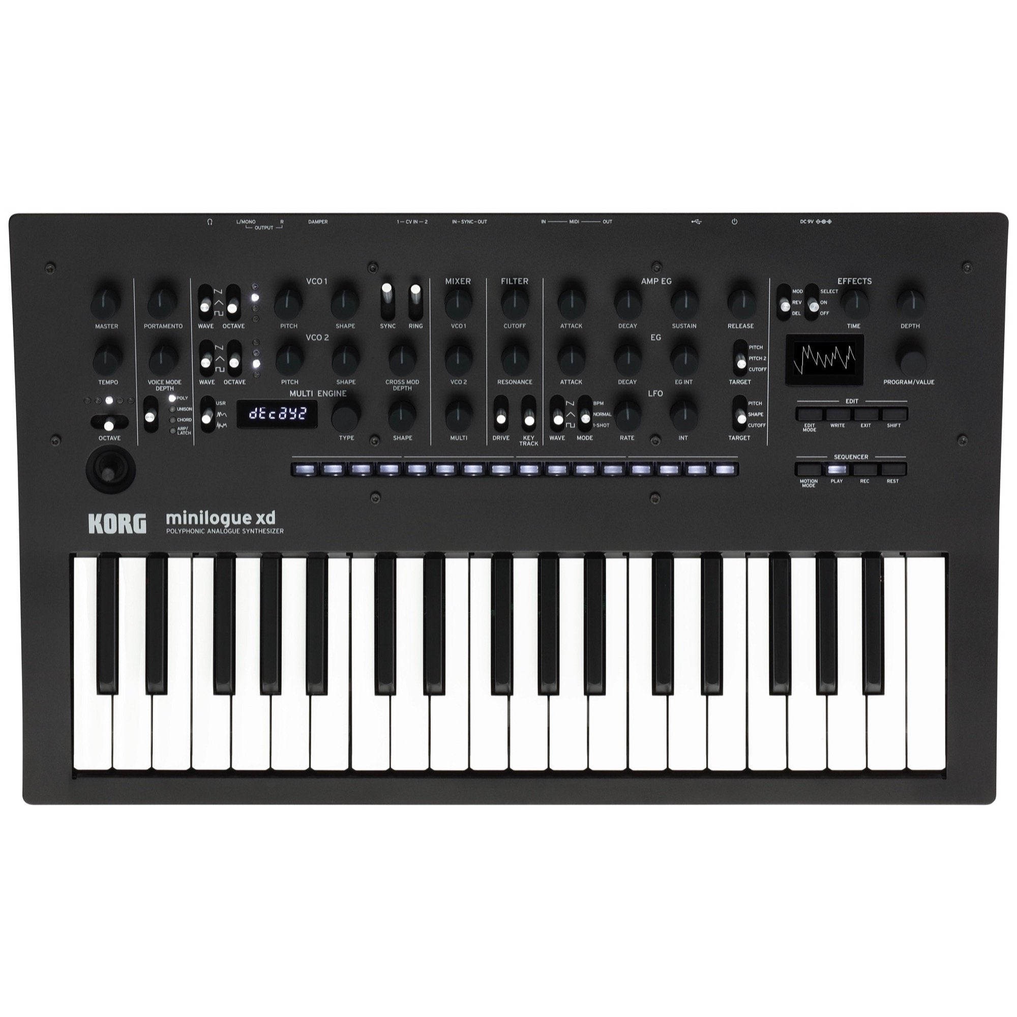 Korg Minilogue XD Analog Keyboard Synthesizer