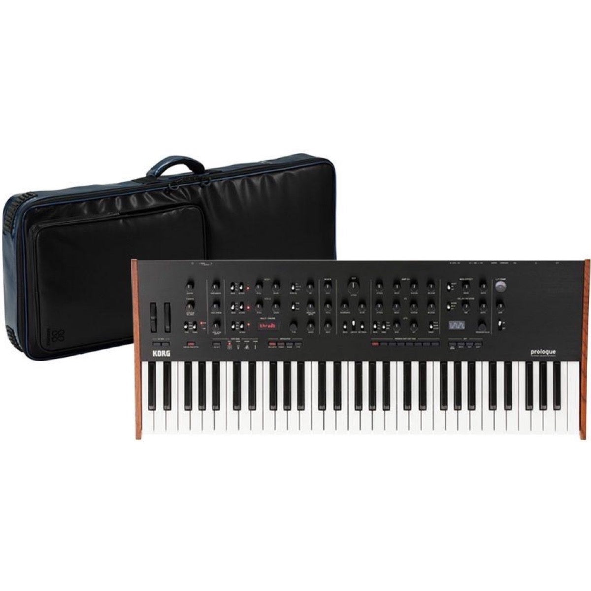 Korg Prologue 16-Voice Analog Keyboard Synthesizer, 61-Key, with Sequenz Bag
