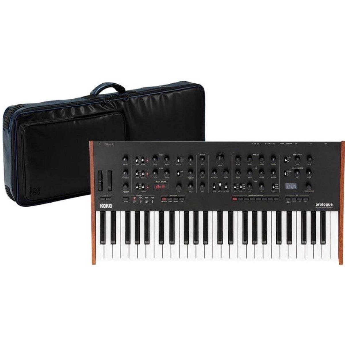 Korg Prologue 8-Voice Analog Synthesizer, 49-Key, with Sequenz Bag