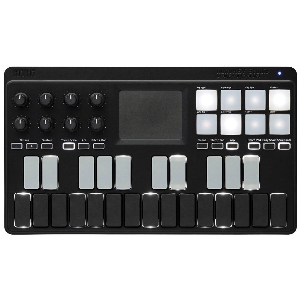 Korg nanoKEY Studio MIDI Controller with Bluetooth