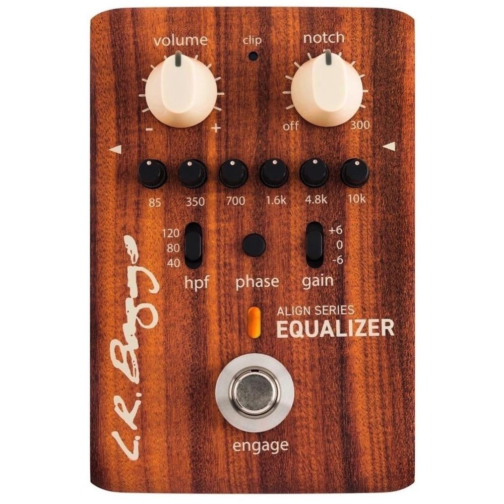 LR Baggs Align Equalizer Preamp EQ Pedal