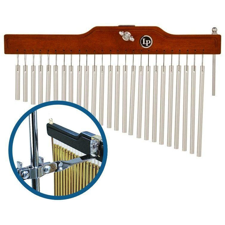 Latin Percussion Studio Chimes (25 Bars), with Drum Mount