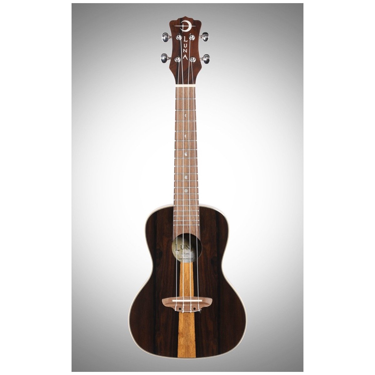 Luna Ziricote Concert Ukulele (with Gig Bag)