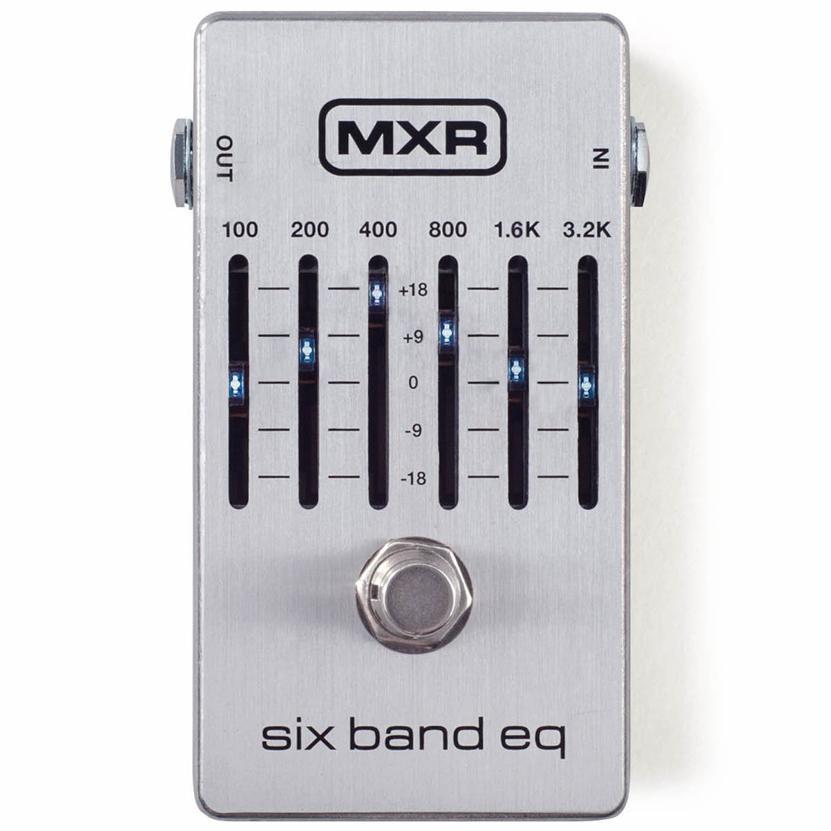 MXR M109S 6-Band Graphic EQ Pedal