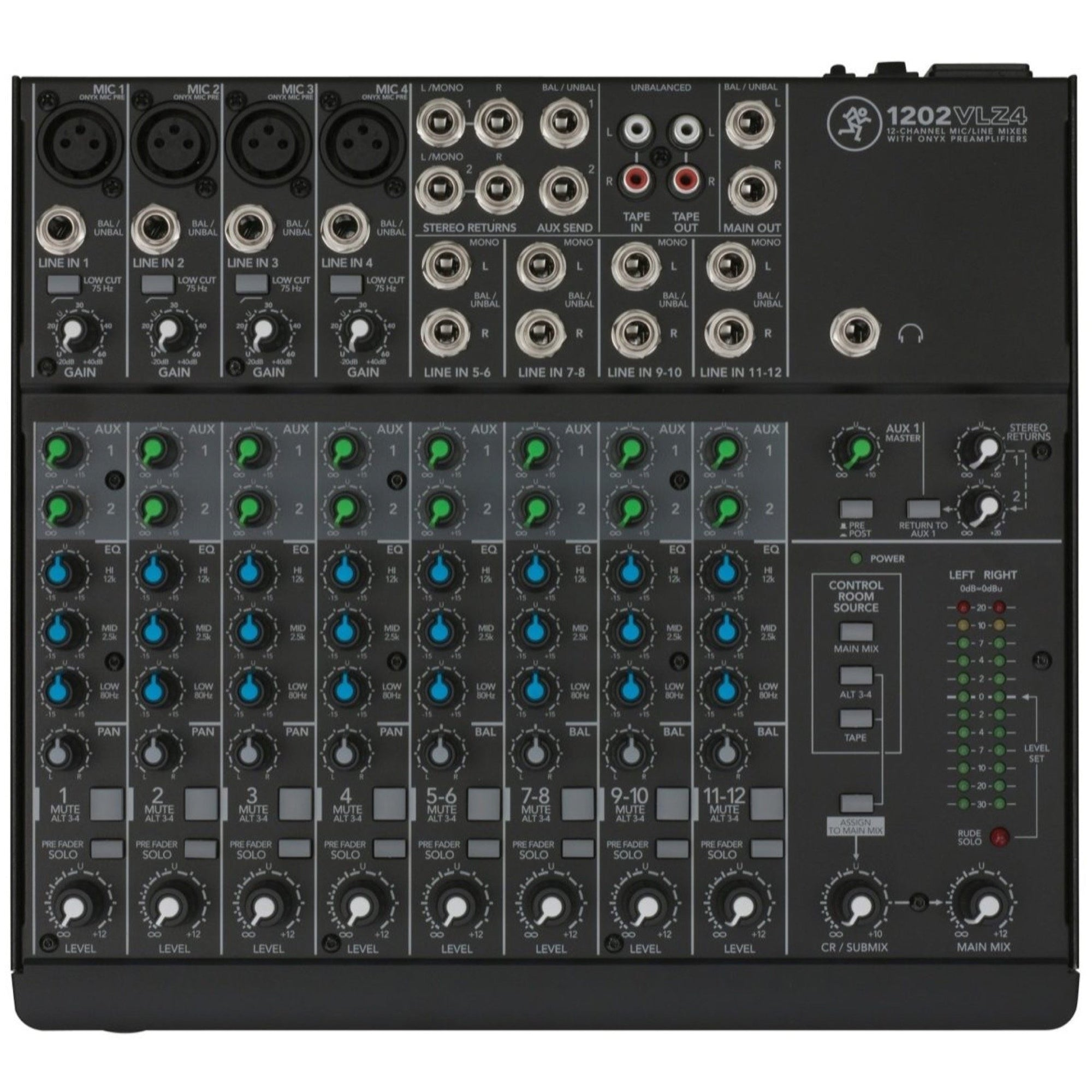 Mackie 1202VLZ4 12-Channel Mixer