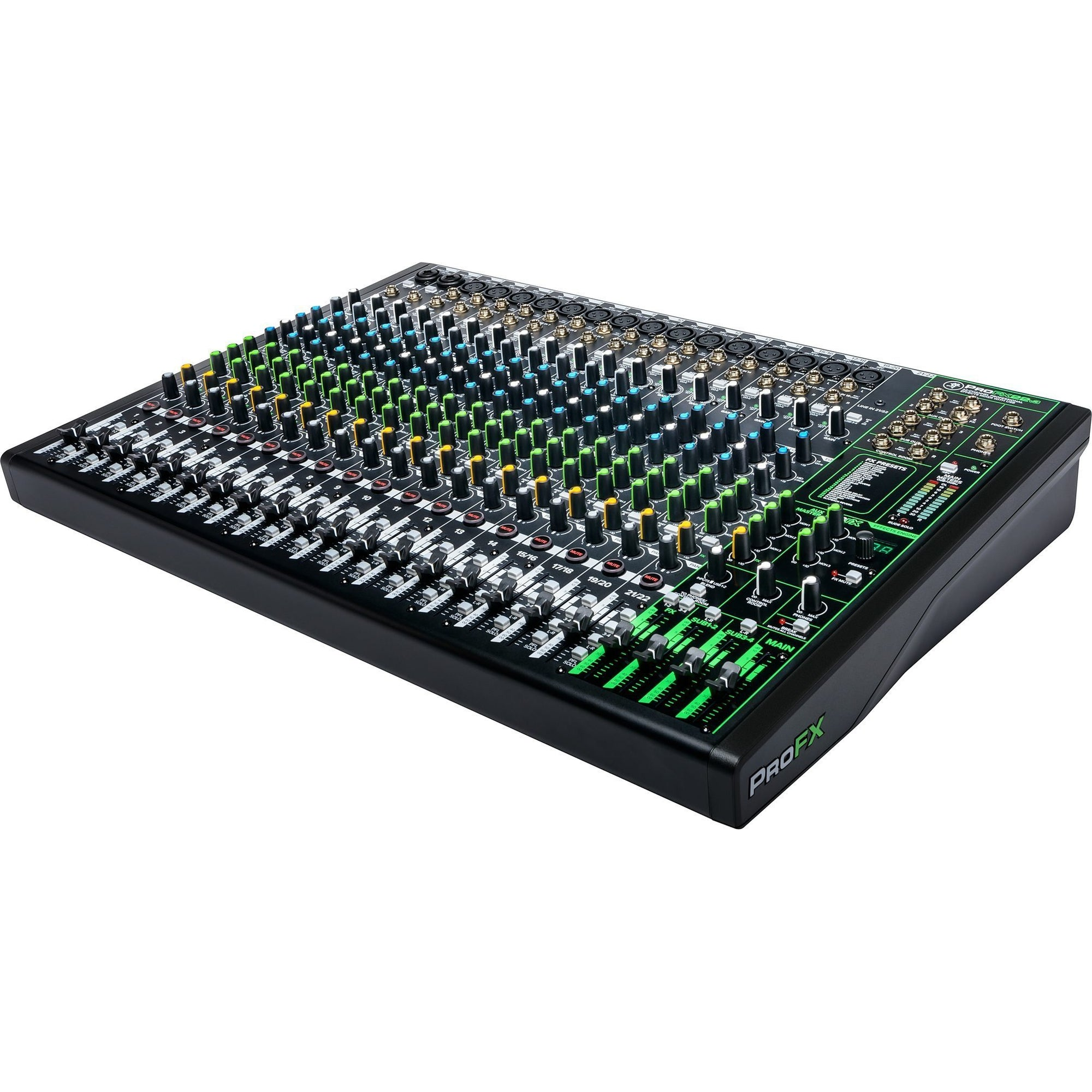 Mackie ProFX22v3 Professional USB Mixer, 22-Channel