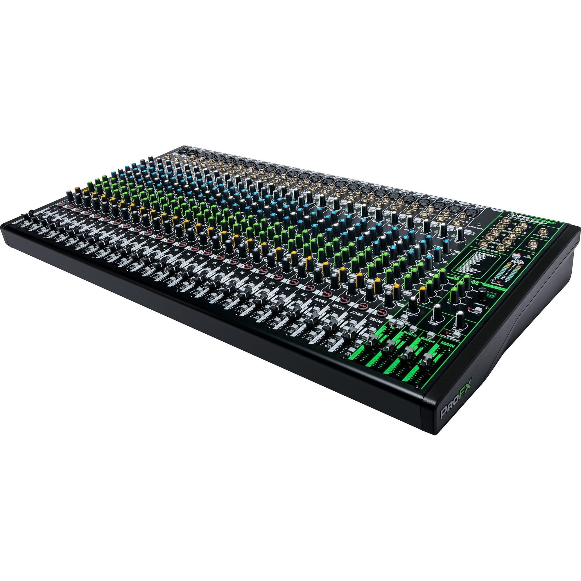 Mackie ProFX30v3 Professional USB Mixer, 30-Channel
