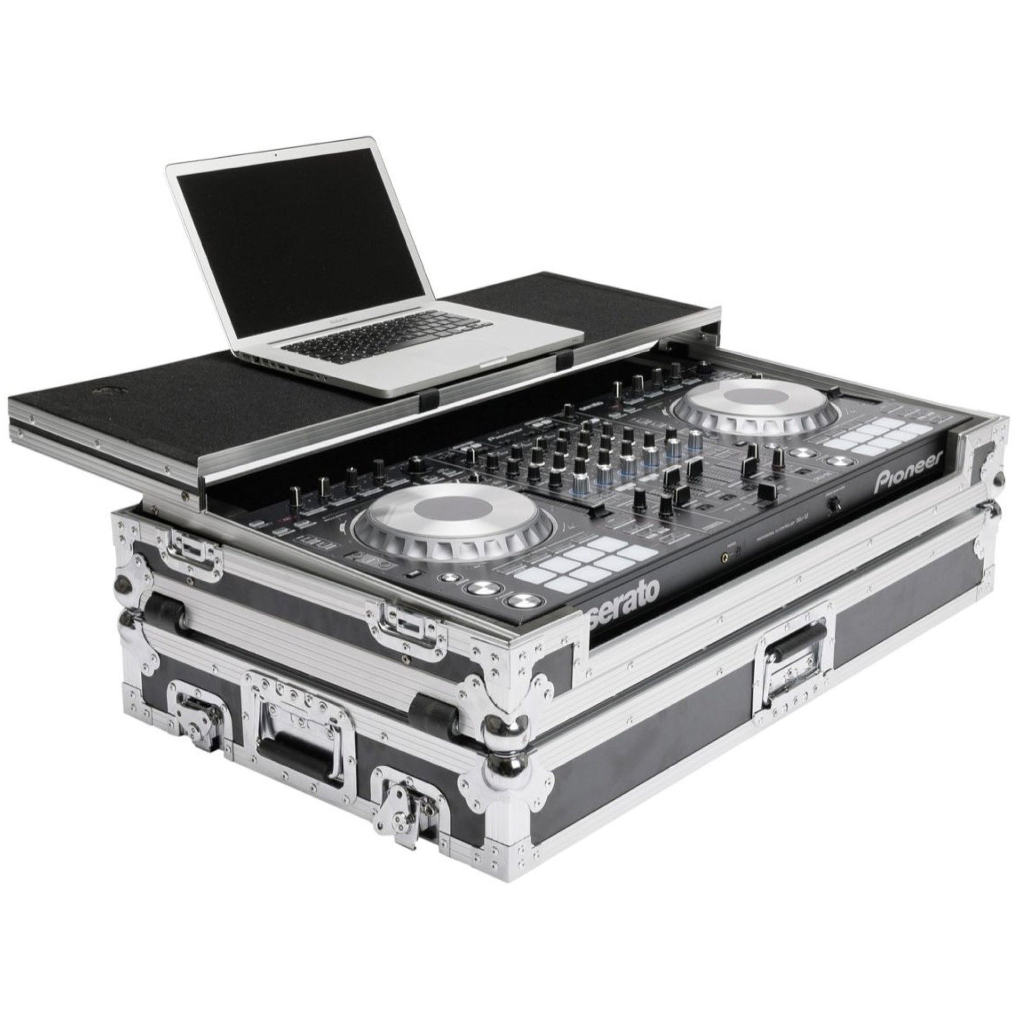 Magma DJ Controller Workstation Case for DDJ-SZ2 and NS7III