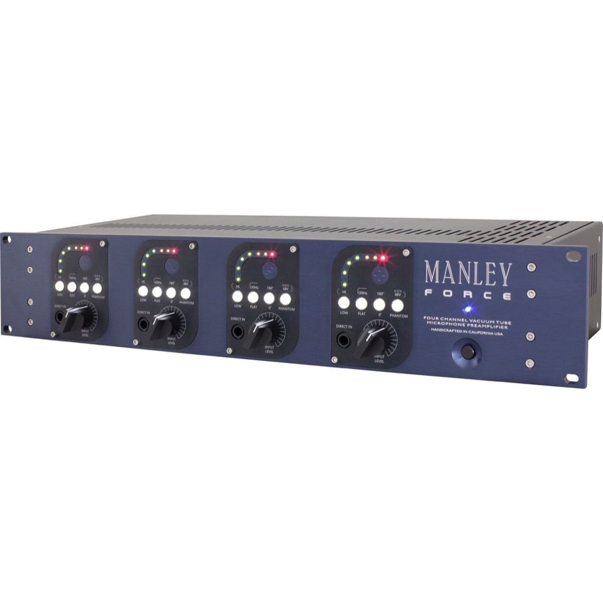Manley Force Four-Channel Vacuum Tube Microphone Preamplifier