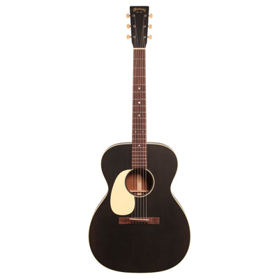 Martin 000-17 Acoustic Guitar, Left-Handed (with Case), Black Smoke
