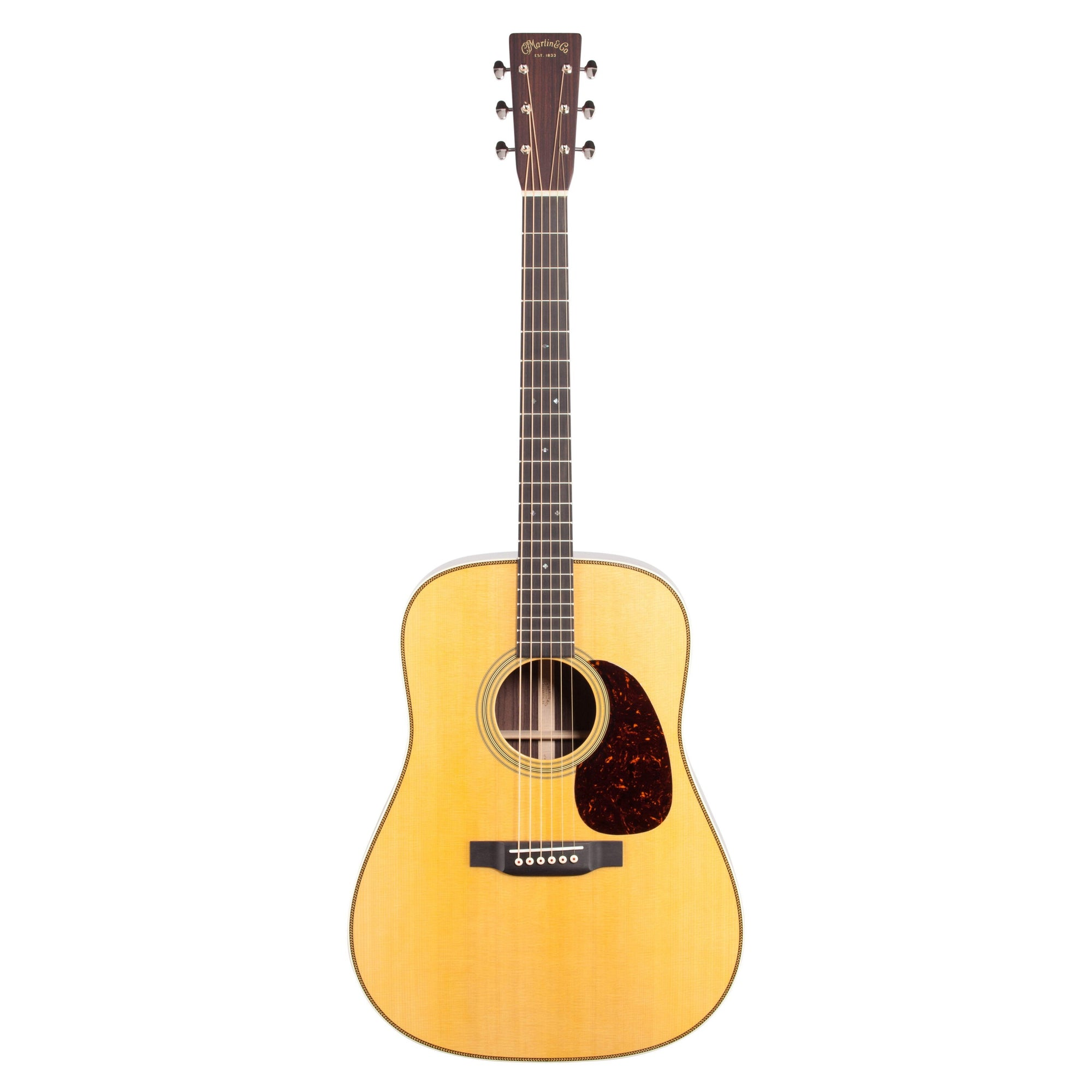 Martin HD-28 Redesign 2018 Acoustic Guitar (with Case), Natural