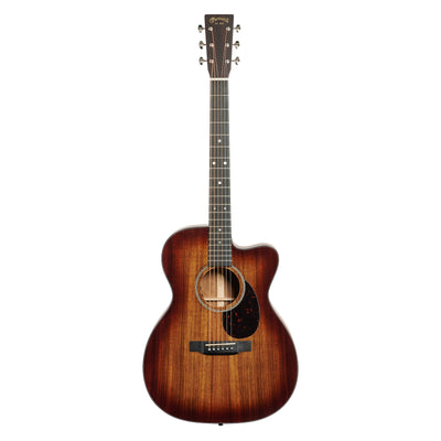 Martin OMC-16E Orchestra Cutaway Acoustic-Electric Guitar (with Case), Sunburst