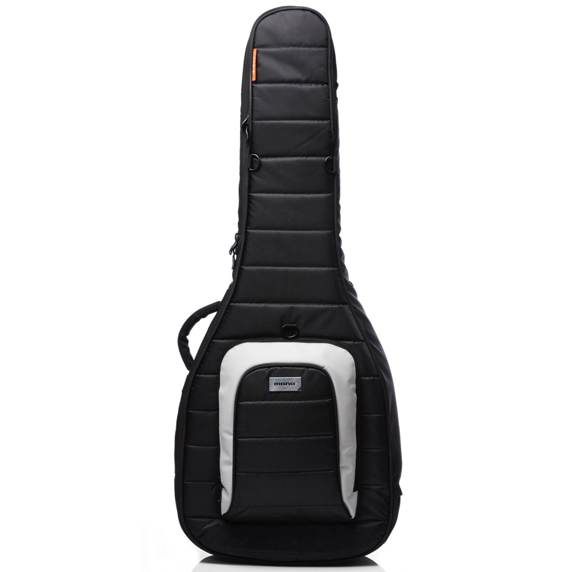 Mono M80 Dual Acoustic-Electric Guitar Case, Black