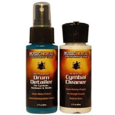 Music Nomad Drum Detailer and Cymbal Cleaner Pack