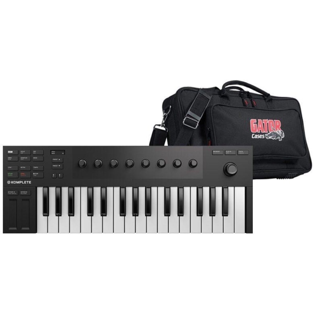 Native Instruments Komplete Kontrol M32 USB MIDI Keyboard, with Gig Bag