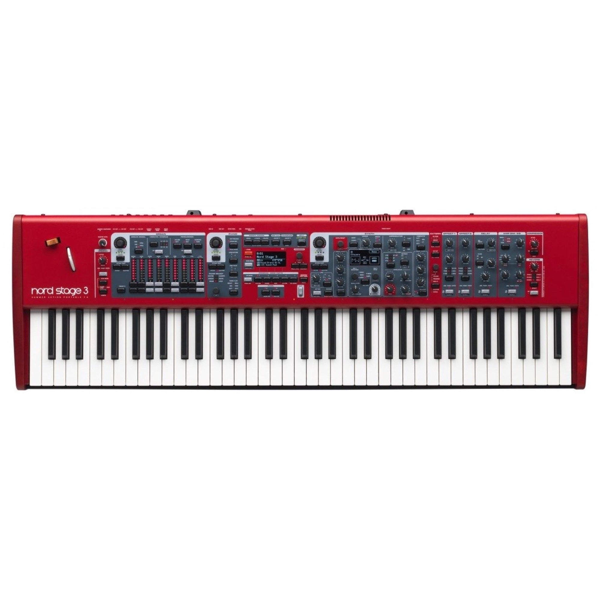 Nord Stage 3 HP76 Hammer-Action Synthesizer Keyboard, 76-Key