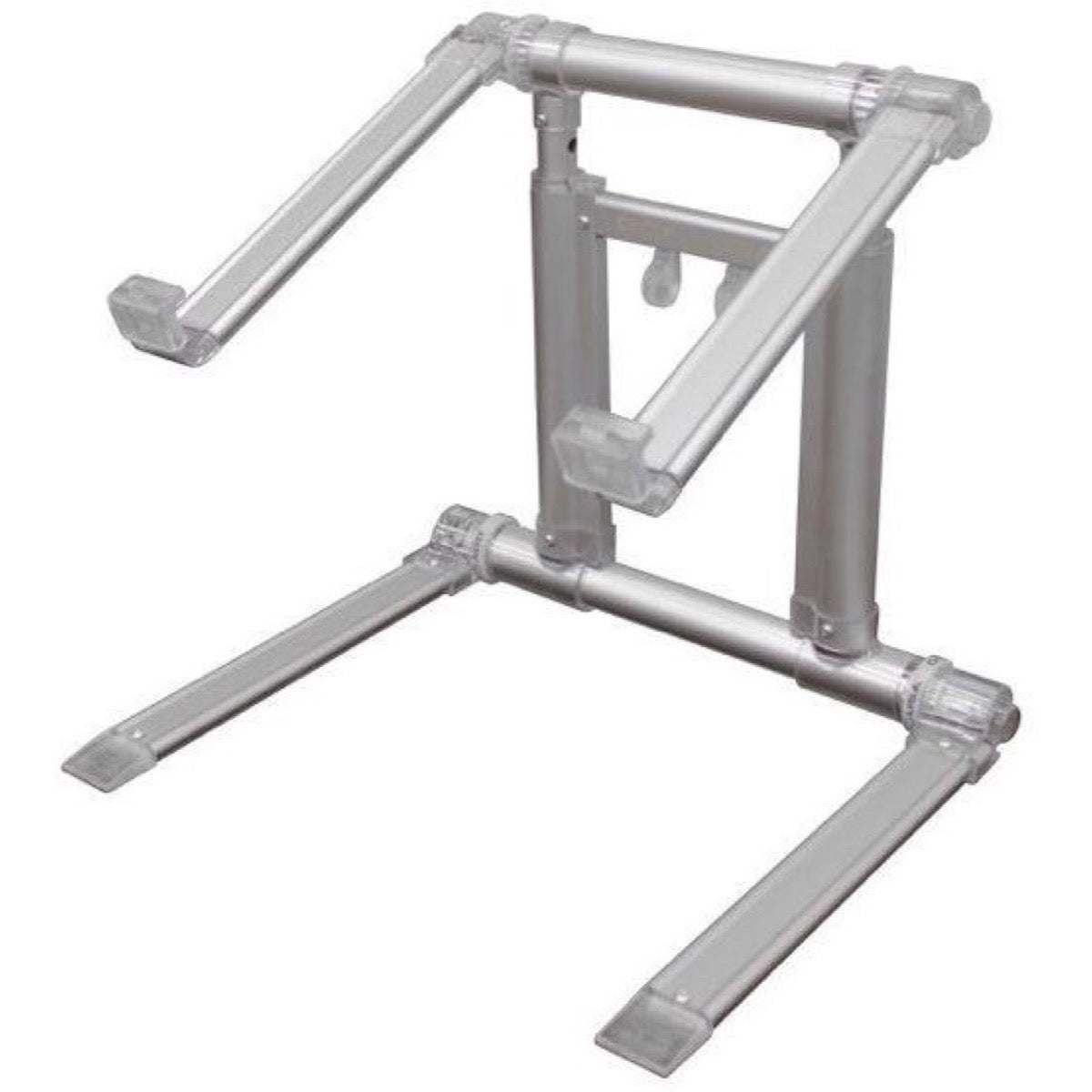 Odyssey LSTAND360 Laptop Tablet Folding Stand, Mac Silver