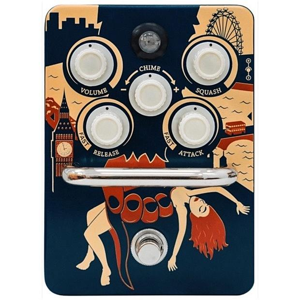 Orange Kongpressor Analog Class A Compression Pedal