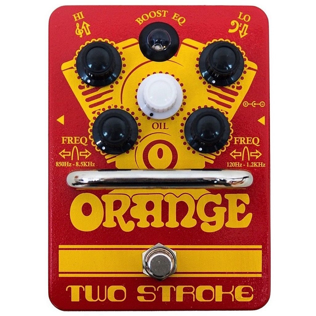 Orange Two Stroke Boost and Equalizer Guitar Pedal