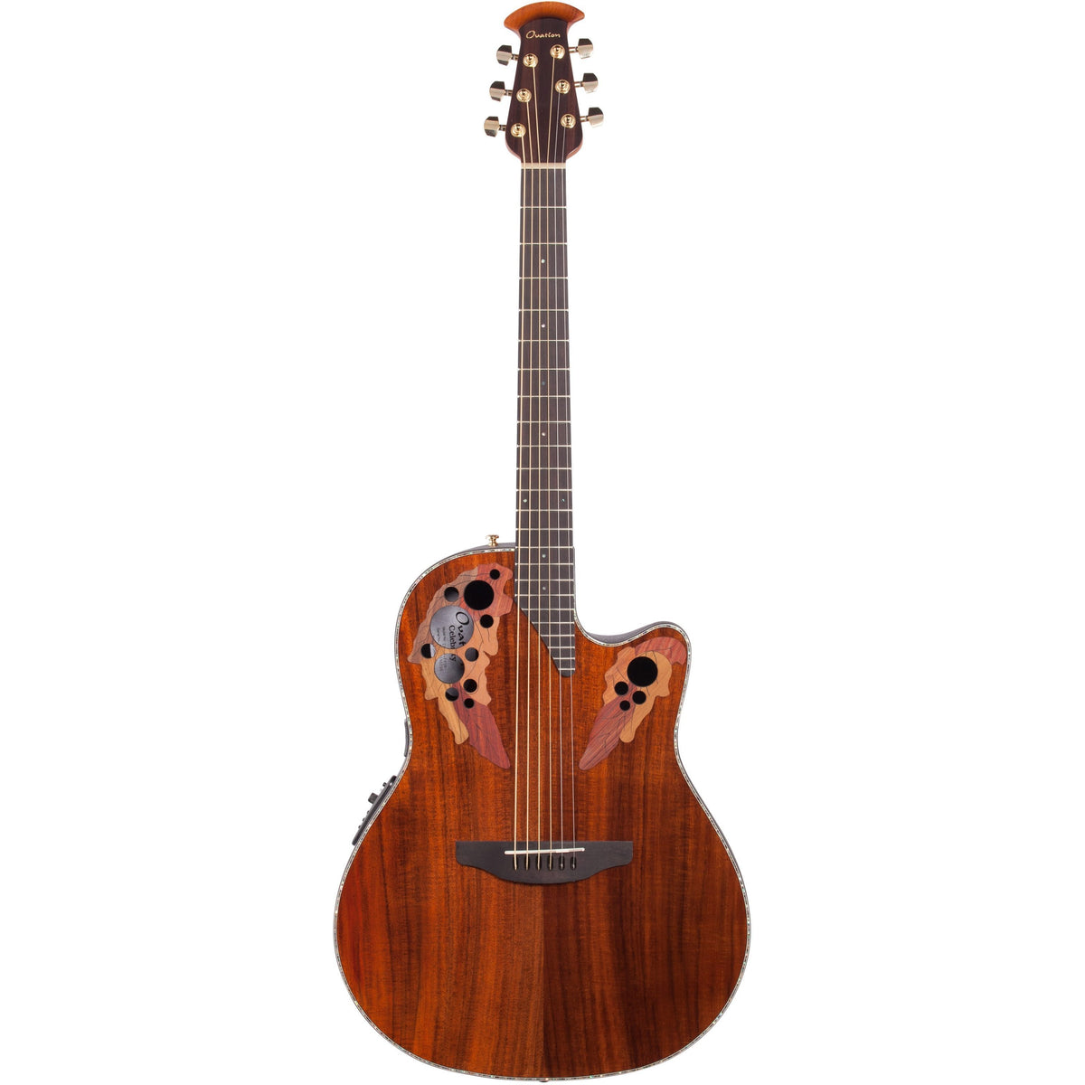 Ovation CE44P-FKOA Celebrity Elite Plus Acoustic-Electric Guitar