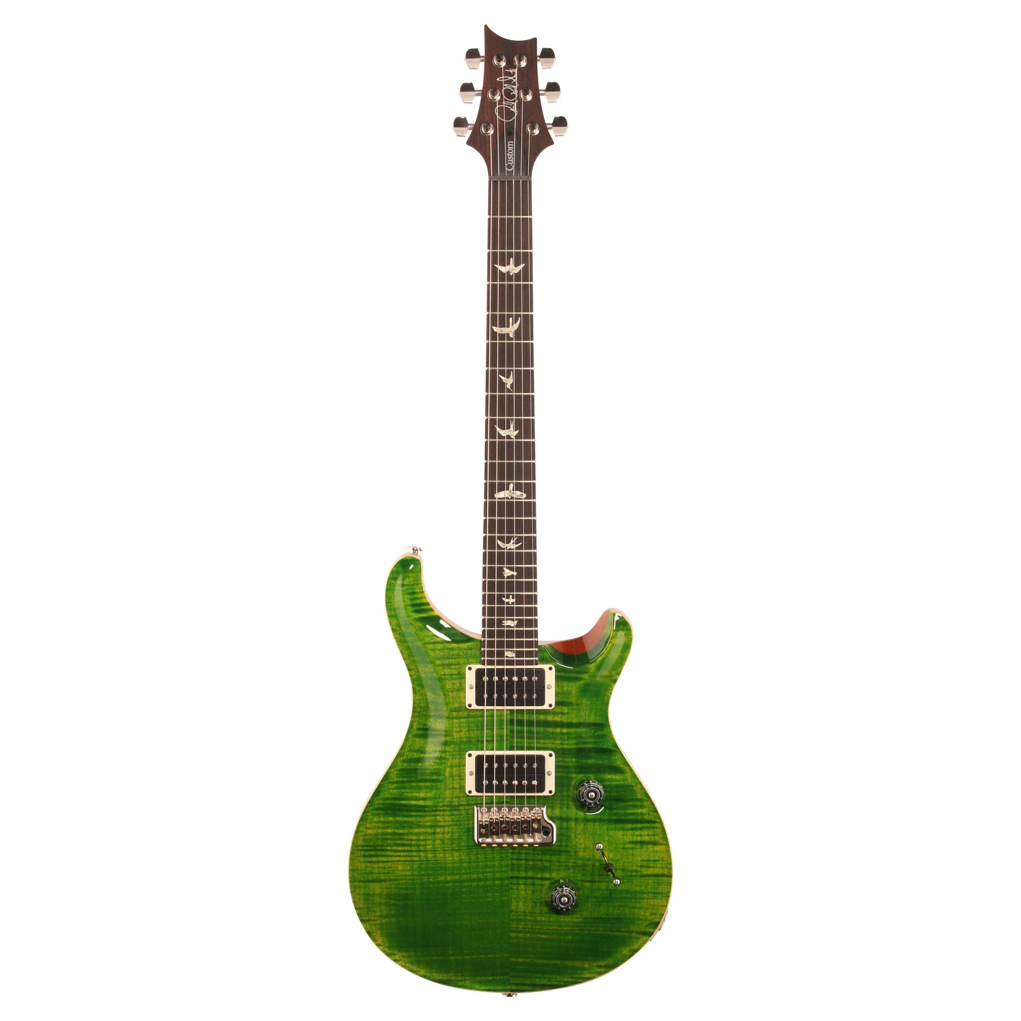 PRS Paul Reed Smith Custom 24 Gen III Electric Guitar (with Case), Emerald